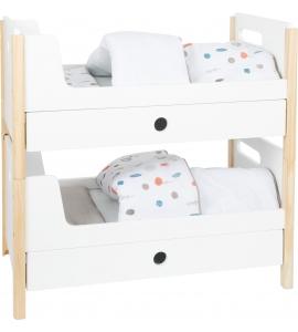 Dvojposchodová posteľ pre bábiky