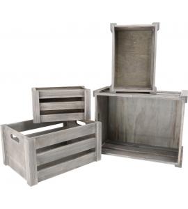 Štýlové drevené boxy