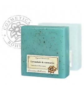 Glycerínové mydlo - levanduľa a rozmarín 105g