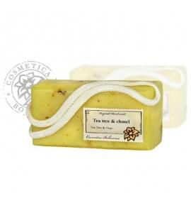 Glycerínové závesné mydlo - tea tree a chmeľ 200g