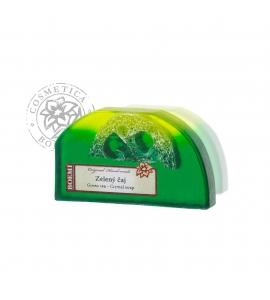 Mydlo s lufou - zelený čaj 100g
