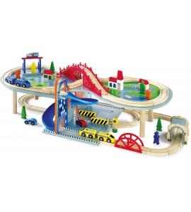 Dvojposchodová detská železnica