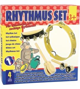 Sada rytmických hudobných nástrojov