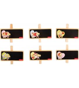 Lillebi dekoratívne štipce na poznámky
