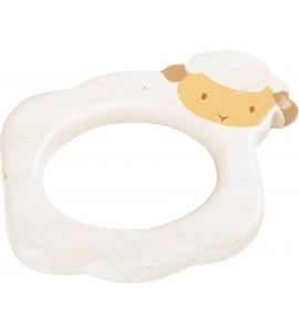 Drevená hračka na uchopenie - Ovečka