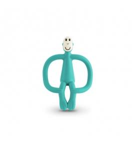 hryzátko a zubná kefka Matchstick Monkey Zelená